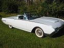 1962 Thunderbird Convertible 390 V8 T-bird Baffon Blue