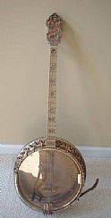 1934 Bacon & Day B & D Banjo Tenor 4 String