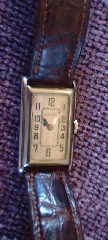 Vintage Gruen 14k Gf Men S Watch Sold Watches