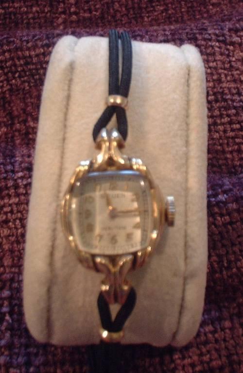 Ladies Vintage Gruen Veri Thin 15 Jewels Watch 40 S