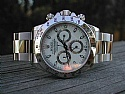 Rolex Stainless Daytona White Face F Serial 2004 NIB