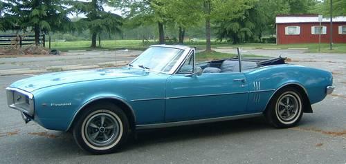 1967 Firebird 326 H.O. Convertible
