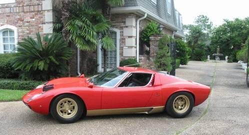 1972 Lamborghini Miura Sv Ronsusser Com