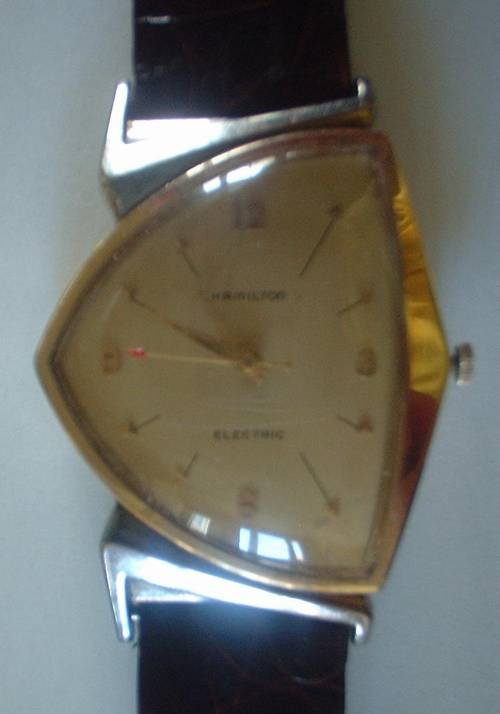 Perpetual Calendar Watch >> Rare Hamilton Pacer Electric 50's GF Original 500 Watch ...