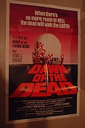 Dawn of the Dead 1978 Original One Sheet Movie Poster - Horror and Zombies