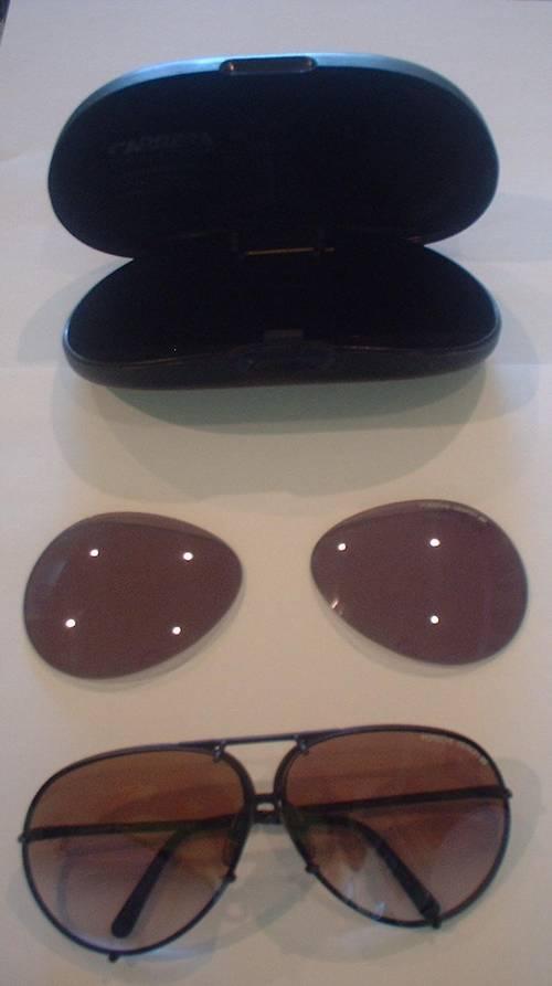 Vintage Carrera Porsche Design Sunglasses Black Extra