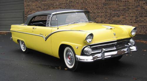 1955 Ford Fairlane Sunliner Convertible Frame Off WOW