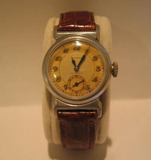 Vintage Movado Watch Sport Watch Midsize 1940 S
