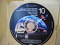 Mercedes ML Navigation CD ROM disc #10 Canada for Alpine System 2000