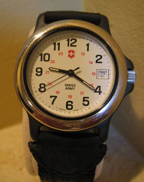 Original Swiss Army Watch Mint Condition With Date