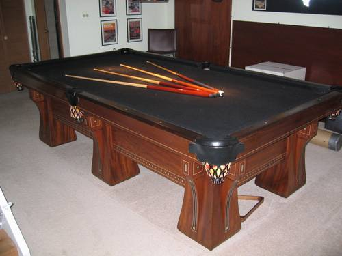 Pool Billiards Table Arcade Red
