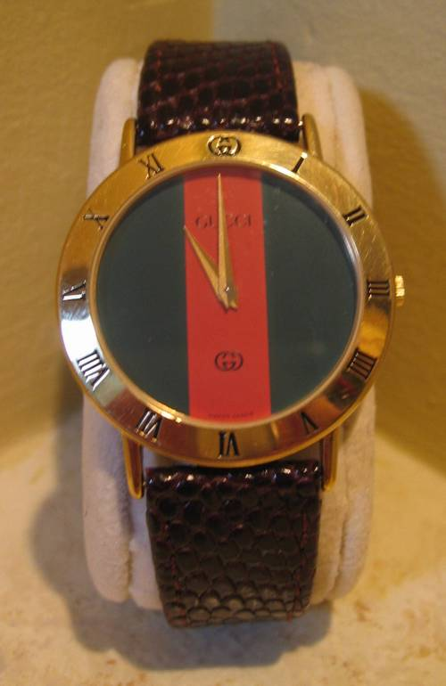 Classic Gucci Stripe Dial Men S Watch Ronsusser Com