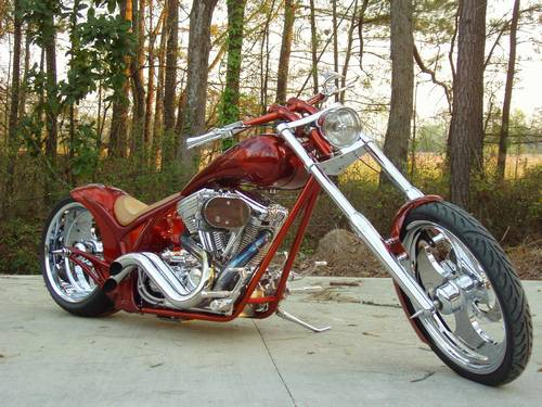 2001 Carolina Custom Cycles Exodus Chopper 4000 Miles Pro Street
