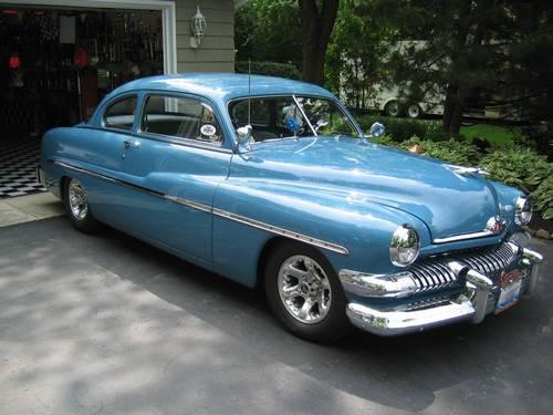 1951 mercury merc 2 door coupe avon blue national winner for 1951 mercury 2 door coupe