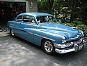 1951 Mercury Merc 2 Door Coupe Avon Blue National Winner