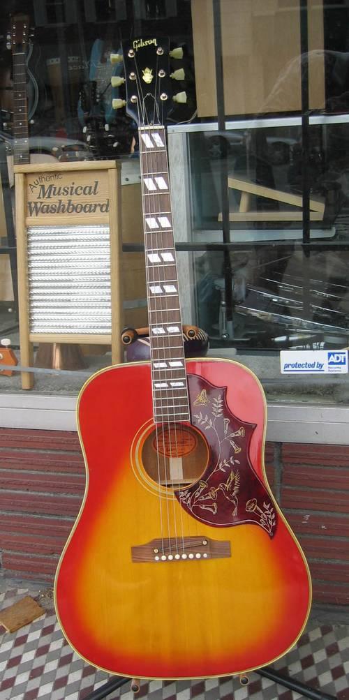 Gibson Hummingbird Acoustic Guitar Circa 1968 RonSusser