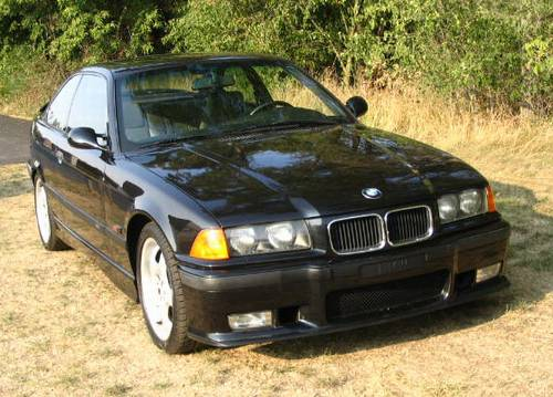 1995 BMW E36 M3 Coupe Black Pearl Luxury 90K Miles – RonSusser.com