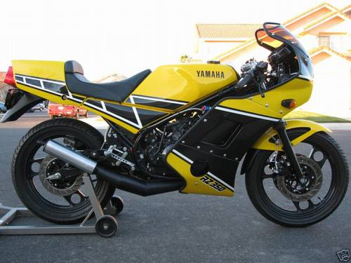 1985 Yamaha RZ350 Custom 2 Stroke Street Bike – RonSusser.com