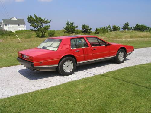 1987 Aston Martin Lagonda Red 20400 Miles Series 3 Mint