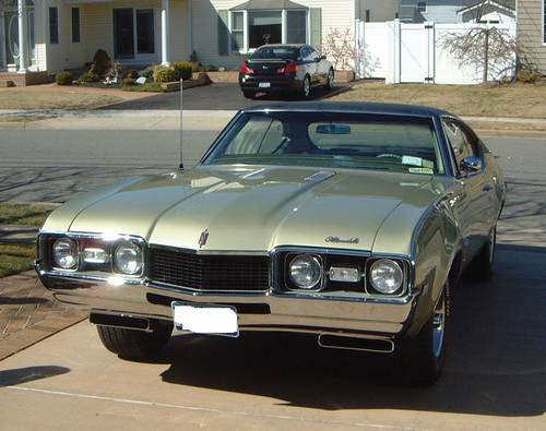 1968 Olds Cutlass S Holiday Coupe W-31 Recreation Ram Rod 350