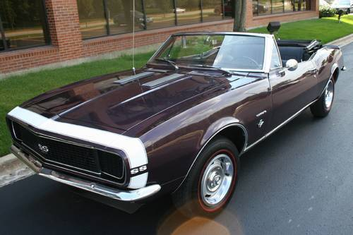 1967 Camaro RS/SS Convertible Clone 4 Speed – RonSusser com