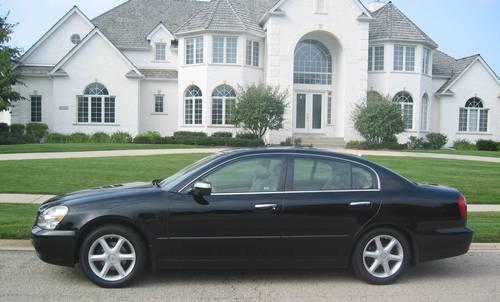 2002 Infiniti Q45 Luxury Sedan Black 30k Miles Super Shape