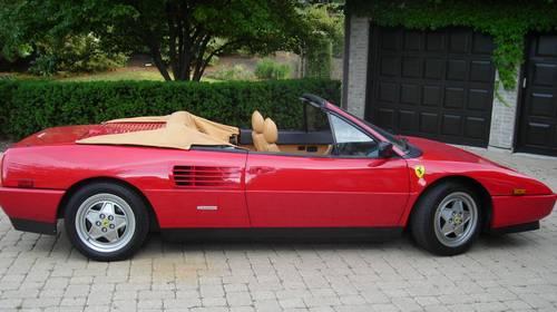 1989 ferrari mondial mondial t cabriolet. Black Bedroom Furniture Sets. Home Design Ideas