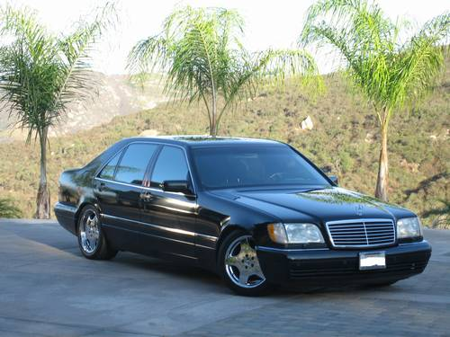 1997 mercedes s600 sedan 97k miles bill goldberg