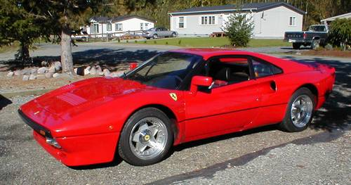 Ferrari 288 gto replica for sale