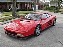 1991 Ferrari Testarossa Red/Tan, Tubi Just Serviced Super Shape