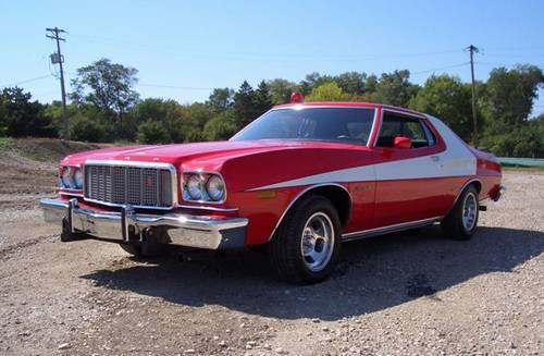 Ford Gran Torino From The TV Series And Film Starsky And Hutch - American muscle car tv show