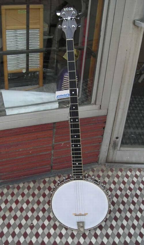 Vintage Vega Banjo 1964 5 String Seeger Model – RonSusser com