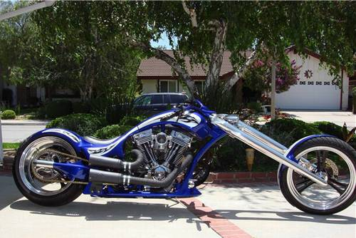 2006 Martin Brothers Custom Chopper 520 Miles Incredible ...