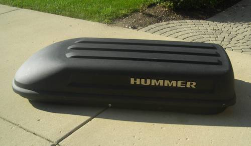 Hummer H2 Hard Cargo Carrier Made By Thule Ronsusser Com