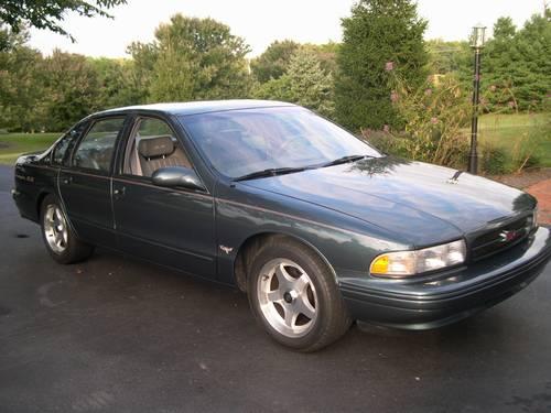 1996 Impala SS Magazine Car Nitrous 650 HP Rocket