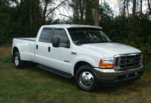 f350 2001 ford dually duty super cab crew lariat xlt ronsusser truck mouthfull auction today