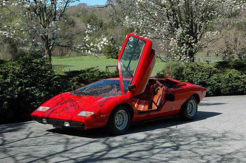 1977 Lamborghini Countach Lp400 Periscopa Incredible Original