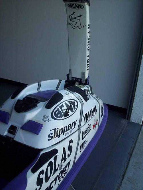1996 Yamaha SuperJet Watercraft used by Champion Lloyd ...