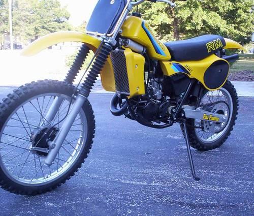 1982 Suzuki RM125 Motocross Bike Beautifully Restored