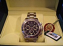Rolex Stainless Steel Daytona BNIB Z Serial 116520 Black Dial, All Books, Boxes New