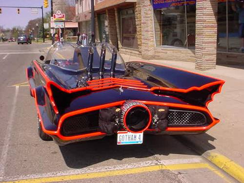 S Tv Batmobile Recreation Like No Other Except Perhaps The