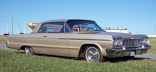 1964 Impala Ss Super Condition 327 V 8 A True Survivor