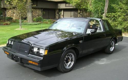 1987 Buick Grand National 23 000 Original Miles T Tops Ronsusser Com