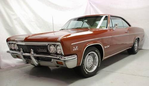 1966 Impala SS 427 Aztec Bronze Auto Beatifully Restored