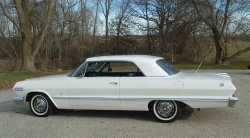 1965 Impala Super Sport >> 1963 Chevy Impala SS 283 V8 Matching #'s Auto – RonSusser.com