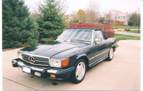 1988 Mercedes Benz 560SL – Super Shape – RonSusser.com on neutral safety switch replacement, oil pan gasket replacement, fuel pump replacement, pitman arm replacement, brake light switch replacement, map light bulb replacement, turn signal switch replacement, third brake light replacement, power window motor replacement, timing chain replacement, camshaft position sensor replacement, fuel injector replacement, hood release cable replacement, timing belt tensioner replacement, windshield wiper arm replacement, cigarette lighter socket replacement, catalytic converter replacement,