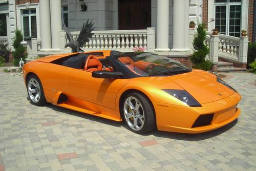 2006 Lamborghini Murcielago Roadster Orange 6000 Miles 6 Speed