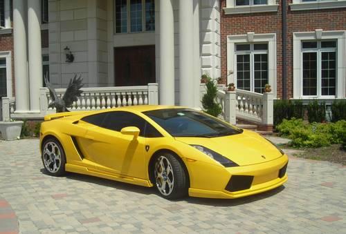 2004 Lamborghini Gallardo E Gear Yellow New Clutch Hamann Body
