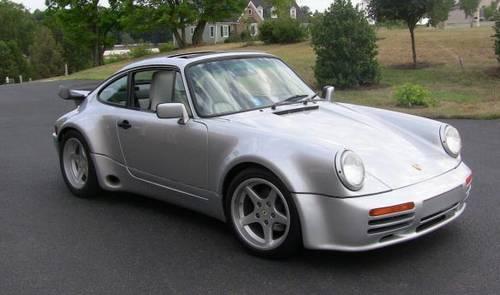 1988 Porsche 911 Turbo Coupe Silver 4 Sd – RonSusser.com