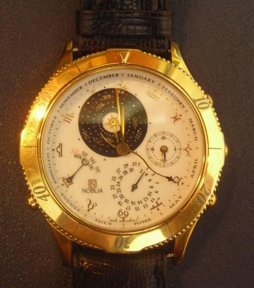 Citizen Noblia Perpetual Calendar Mens Watch Ronsusser Com